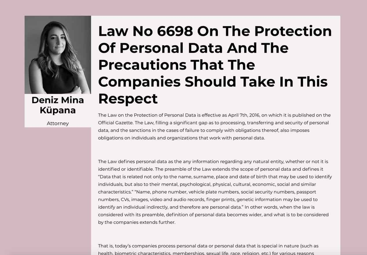 law-no-6698-on-the-protection-of-personal-data